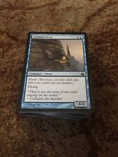 100 Bulk magic the gathering blue common cards mtg Job Lot