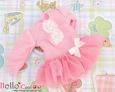 ☆╮Cool Cat╭☆281.【NK-07N】Blythe Pullip Lovely Clothes(Puffed Sleeves)# Pink