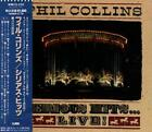 PHIL COLLINS Serious Hits ... Live FIRST JAPAN CD OBI WMC5-220 Genesis