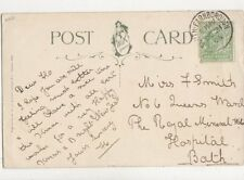 Miss Flo Smith Queens Ward Royal Mineral Water Hospital Bath 1906 763a