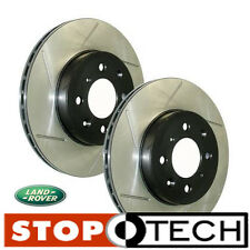 Land Rover Range Rover Sport Supercharged Stoptech Slotted Rotors (Front Pair)