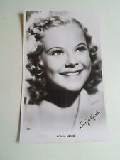 Vintage RP Postcard SONJA HENIE Norweigan Film Star and Figure Skater  1912-1969