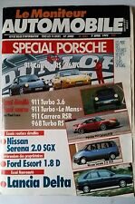 Le moniteur Automobile 1/4/1993; Spécial Porsche/ Lancia Delta/ Escort 1.8 D