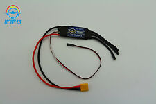 Unique RC airplane PC-9 brushless motor speed controller 40A BEC ESC XT-60 Plug