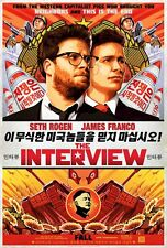 The Interview movie poster - Seth Rogen poster, James Franco poster