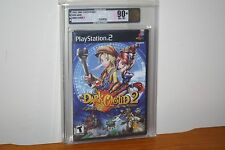 Dark Cloud 2 (PS2 Playstation 2) NEW SEALED MINT, GOLD VGA 90+, HIGHEST GRADE!
