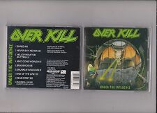 Overkill    under  the  influence       CD  MEGAFORCE  1988