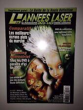 LES ANNEES LASER N°133 2007 ARTHUR ET LES MINIMOYS / INTERVIEW EDOUARD DUBOIS