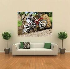 MOTOCROSS BIKE HONDA NEW GIANT LARGE ART PRINT POSTER PICTURE WALL X1373