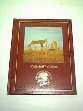 NEW HC BOOK HUNTING DEER WHITETAIL WISDOM THE HUNTING & FISHING LIBRARY 1998