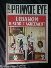 PRIVATE EYE #1164 - LEBANON AGREEMENT - AUG 4 2006