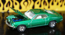 1/64 SCALE GREEN 1969 FORD MUSTANG BOSS 429 DIECAST CAR GREENLIGHT COLLECTIBLE