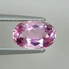 1.64ct  BEST GRADE LUSTROUS  RARE NATURAL BABY PINK TOURMALINE OVAL # SL