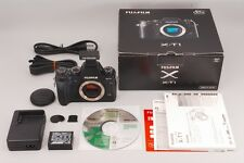 """MINT in BOX"" Fujifilm X-T1 16.3MP Digital SLR Camera w/ flash From japan #0224"