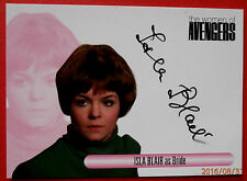The women of the avengers-isla blair, mariée-variante #2 autographe carte, waib