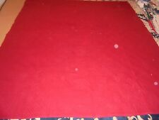 Nice Flannel Red Whole Cloth Quilt