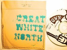 GREAT WHITE NORTH RARE LTD CD #12 OF 67 INDIE PUNK DIY 5 SONG EP AUTOGRAPHED PS