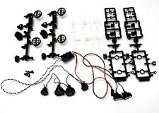 Axial Wraith Crawler 6 LED Light Kit/ Controller/ Buckets/ Lenses/Extras AX24257