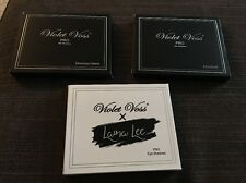 Violet Voss x Laura Lee & Holy Grail & Drenched Metal Palette Set BNIB 100% AUTH