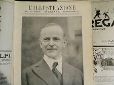 L'illustrazione italiana n. 34 del 1923 Il duca d'Aosta in belgio sovracoperta