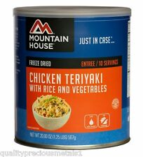 1 Can - Chicken Teriyaki with Rice - Mountain House Freeze Dried Emergency Food