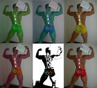 Mens Sports Trunk Olympic Wrestling Singlet Gym Outfit Weight Lifting Bodywear