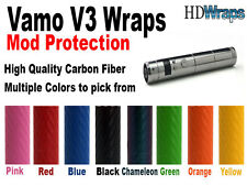 Vamo V3 Carbon Fiber Vinyl Wrap Vapor Multiple to choose from! DWRAPS