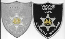 WAYNE  COUNTY CO WV SHERIFF DEPT GRAY BLACK   ALTERNATIVE SENTENCING SO SD