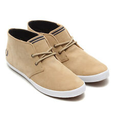 FRED PERRY shoes desert boot, Byron Mid Suede Beige UK11 / EU46
