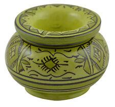 Moroccan Medium Ceramic Ashtray Outdoor Smokeless Cigar Patio Garden Ashtrays