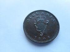1806 HIBERNIA/IRISH FARTHING.