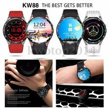 KINGWEAR KW88 Quad Core Bluetooth 3G Android 5.1 Camera SMS Smartwatch Phone