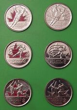 2009 Canada Cindy Klassen, Men's Hockey, Women's Hockey 6-Pack Quarters