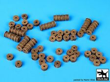Black Dog 1/700 Port Dock Accessories Set No.3 (Various Wooden Spools) S70003