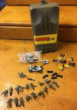 Vintage 1987 Galoob Army Gear Canteen Men Vehicles Play Set Micro Toys