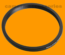 72mm to 67mm 72-67 Stepping Step Down Filter Ring Adapter 72-67mm 72mm-67mm