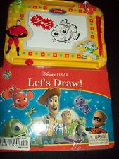 TOY STORY BOOK WITH MAGNETIC PEN WITH ERASABLE DRAWING BOARD