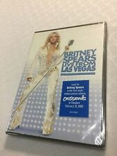 Britney Spears - Live From Las Vegas (Concert DVD, 2002) R1 NEW SEALED