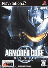 Used PS2  ARMORED CORE NEXUS SONY PLAYSTATION JAPAN IMPORT
