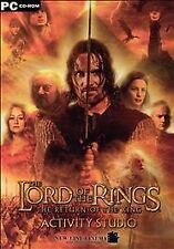 Video Game PC The Lord of the Rings Return of the King Activity Studio NEW jewel