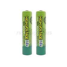2pcs 900mWh 1.6V Volt AAA 3A NiZn Rechargeable Battery PowerGenix Nickel Zinc