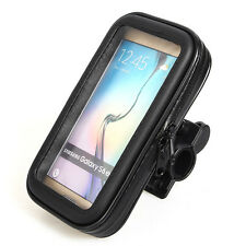 Bicycle Motorcycle Holder Handlebar Mount for Smartphone MP4+Waterproof Bag Case