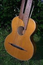 "1929 classical Antique Old Parlor Vintage Harp Guitar ""Apollo - Vio - Triumph"""