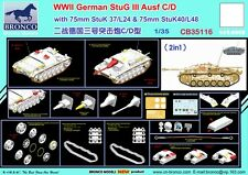 Bronco 1/35 35116 German Stug III Ausf C/D