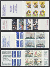 Sweden Sc 2322a/2366a MNH. 1999 issues, 7 Intact Booklets, VF