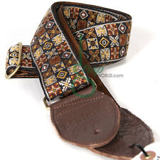 Souldier Guitar Strap Jimi Hendrix Woodstock Strap (Brown)