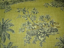 ~BTY~WAVERLY~TROPICAL ISLAND SCENES~ UPHOLSTERY FABRIC FOR LESS~