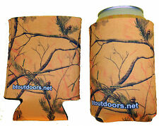 RealTree Orange Camo Can Cooler