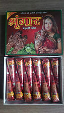 12 Freshly made imported indian henna mehndi temporary tattoo cones 100% natural