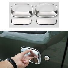 4pcs Car Exterior Door Handle Cover Trim Frame-Silver for Suzuki Jimny 2007-2015
